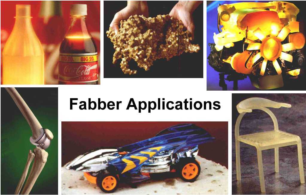 Fabber applications